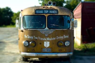 Lone Star Bus 4 Print by John Gusky