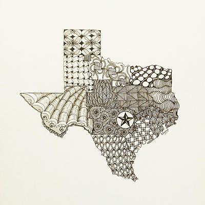 Lone Star State Original by Linda Clary