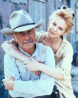 Ladnscape Photograph - Lonesome Dove Gus And Lori by Peter Nowell