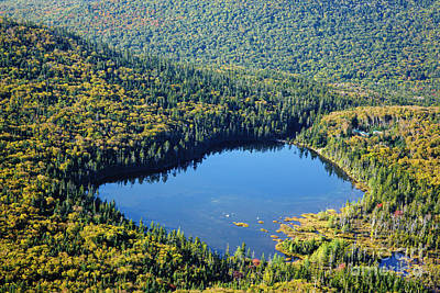Lonesome Lake - White Mountains New Hampshire Usa Print by Erin Paul Donovan