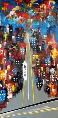 Painting - Long And High by Mac Worthington