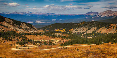Long And Winding Colorado Road Print by James BO  Insogna