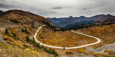 Long And Winding Road To Crested Butte Print by James BO  Insogna