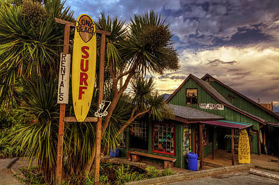 Storefront Photograph - Long Beach Surf Company by Mark Kiver