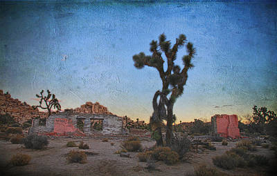 Desert Digital Art - Long, Long Ago by Laurie Search