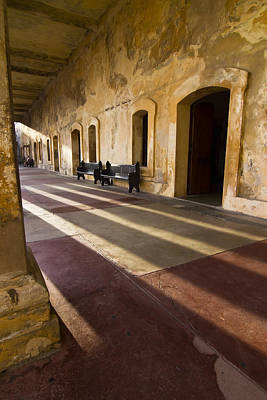 Long Shadows In San Cristobal Print by Sven Brogren