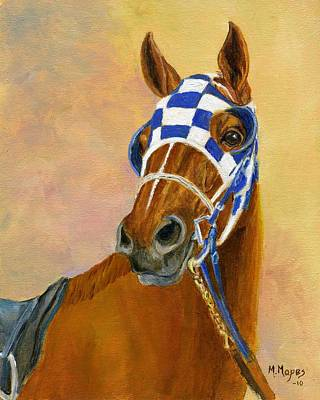 Look Of Eagles- Secretariat Print by Mary Mapes