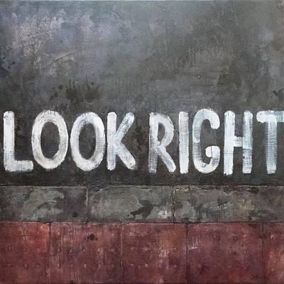 Look Right Original by Alvis Zemzaris