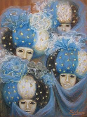 Looking Impassively Print by Elena Simonenko