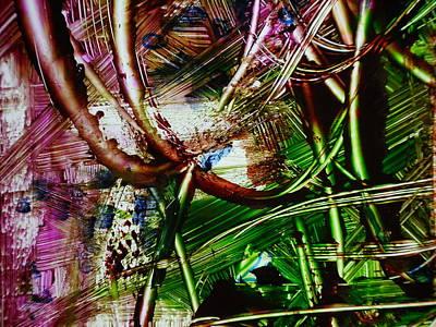 Looped Print by Karen Lillard