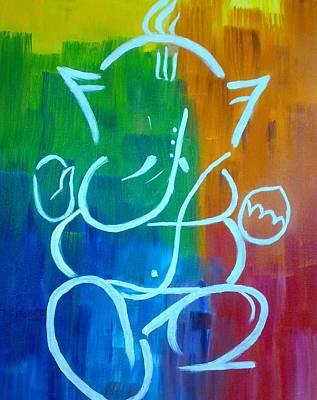 Ganesha Painting - Lord Ganesh by Puja Chakravarty