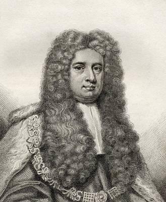 Lord Drawing - Lord Robert Raymond 1st Baron Raymond by Vintage Design Pics