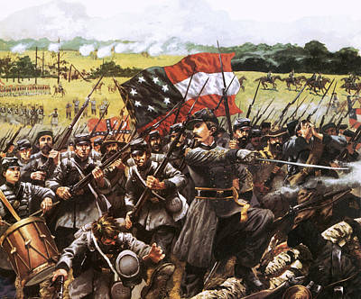 Conflict Painting - Loreta Janeta Velasquez Who Fought With The Confederate Army by American School