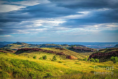 Lory State Park Print by Jon Burch Photography