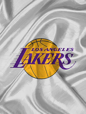 Fan Art Digital Art - Los Angeles Lakers by Afterdarkness