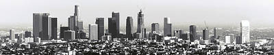 Los Angeles Skyline Photograph - Los Angeles Skyline by Daniel Hagerman