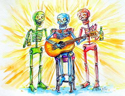 Los Tres Cantantes Original by Heather Calderon