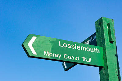 Lossiemouth Print by Tom Gowanlock
