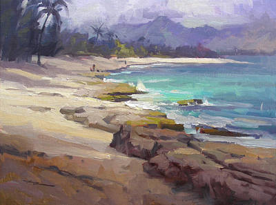 Haleiwa Painting - Lost In Paradise by Richard Robinson