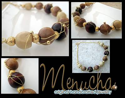 Wire Wrap Jewelry Jewelry - Lost In The Woods by Menucha Citron