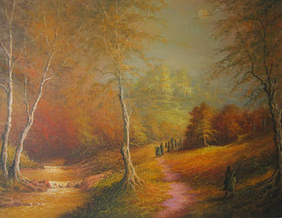 Lothlorien Original by Joe  Gilronan