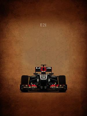 Formula Car Photograph - Lotus E21 by Mark Rogan