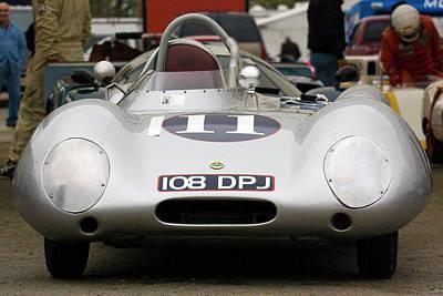 Lotus Racecar Photograph - Lotus Eleven by Alan Raasch