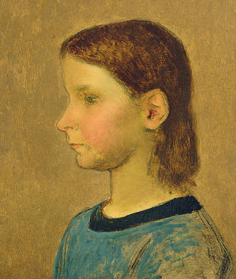 Smallmouth Bass Painting - Louise Millet by Jean-Francois Millet