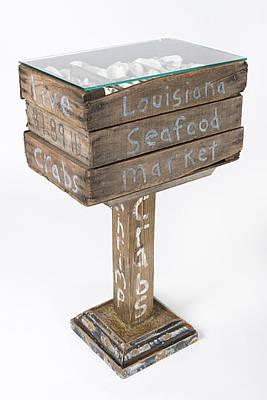 Louisiana Seafood Market Print by Benjamin Bullins