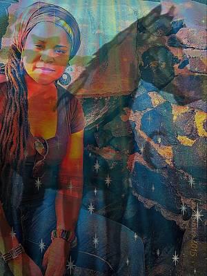 Yesayah Digital Art - Loulou And Me by Fania Simon