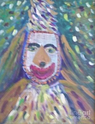 Mardi Gras Painting - Loup Garou by Seaux-N-Seau Soileau