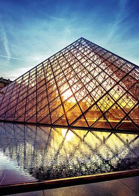 Louvre Museum 2 Original by Ivan Vukelic