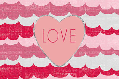 Love 2 Print by Sabine Jacobs