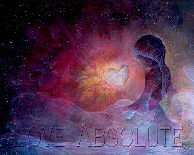 Principle Painting - Love Absolute by Art by Ela