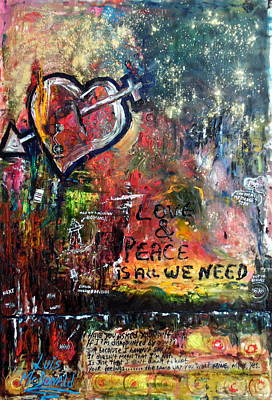 Love And Peace Original by Luis McDonald