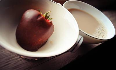 Tea Photograph - Love And Scandal Are The Best Sweetners by Laura Pineda