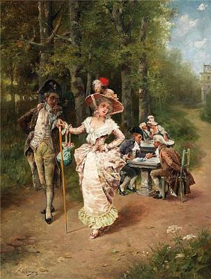 Love Painting - Love And Tenderness by Antonio Lonza