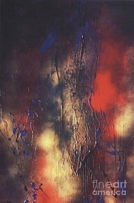 Sadness Painting - Love And War by Sarah Rachel