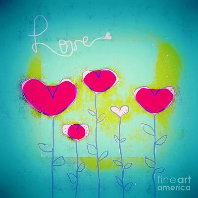 Love Art - 144a Print by Variance Collections