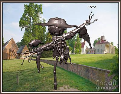 Love Between Scarecrow And Bird 1 Original by Pemaro