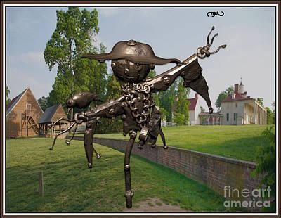 Love Between Scarecrow And Bird 3 Original by Pemaro