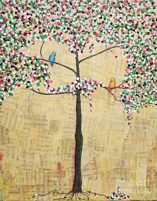 Painting - Love Birds by Natalie Briney