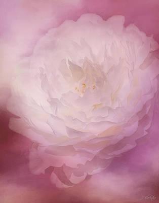 Jordan Painting - Love Comes Softly - Flower Art by Jordan Blackstone