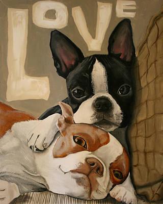 Love Print by Debbie Brown