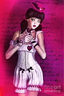 Digital Art - Love Doll by Alicia Hollinger