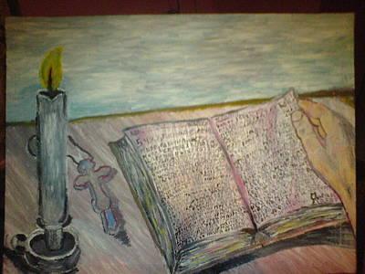 Spiritual Painting - Love Faith And Hope by Lazar Caran