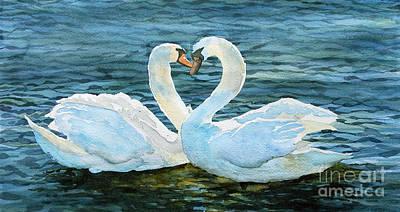 Love Forever Print by Marisa Gabetta
