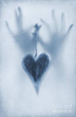 Love Heart Print by Svetlana Sewell