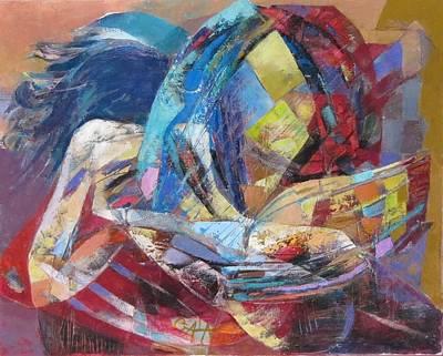 All Around Us Painting - Love Is All Around Us by GALA Koleva