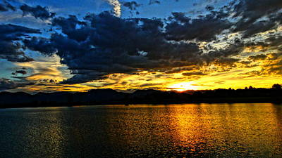 Photograph - Love Lake by Eric Dee